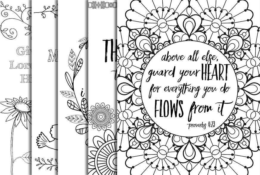 96 Christian Coloring Pages To Download And Print