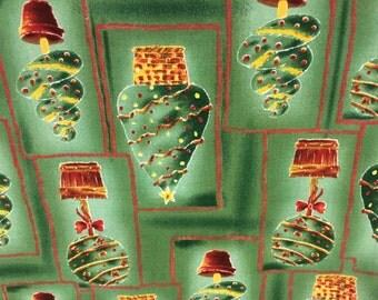 1/2 Yard Christmas Topiary Fabric