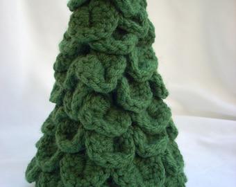 Christmas Tree Decoration / Crochet Evergreen Tree / Play Scenery