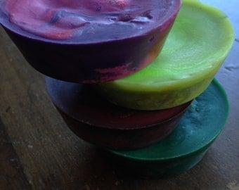 Galaxy Crayon Discs