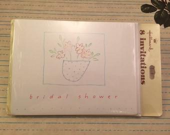 Vintage Bridal Shower Invitations - Hallmark