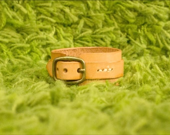 Leather Wrap Cuff Bracelet