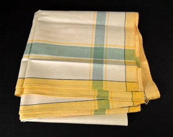 Vintage Irish Tablecloth / Table Linens/ Fancy Table
