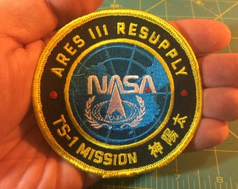 The Martian: Taiyang Shen ARES III Mission Patch
