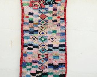 Small rag rug pink 1