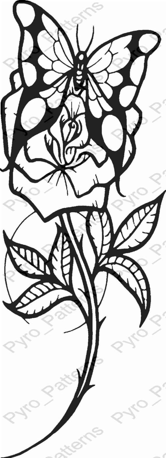 Simplicity image within wood burning stencils printable