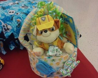 baby diaper basket.  can be custome made.
