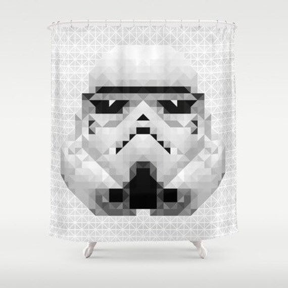 items similar to inspired by star wars shower curtain superheroes shower curtain superheroes. Black Bedroom Furniture Sets. Home Design Ideas