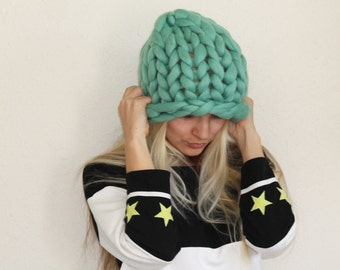 Super Chunky hat, Chunky Hat, Hat, Knitted Hat, Knit Hat, Chunky Knit Hat, Wool Hat, Chunky Wool Hat, Super chunky Wool Hat