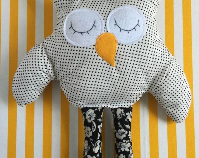 Cornelius the sleepy owl