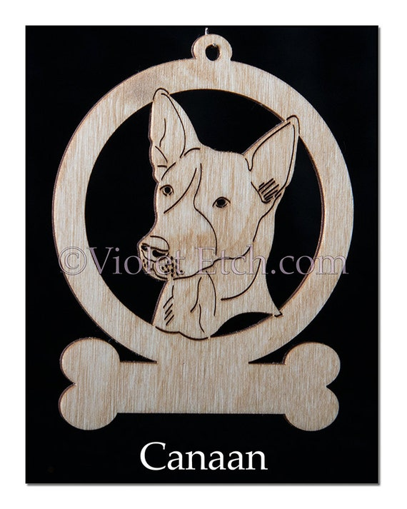 Canaan Ornament-Canaan Gift-Free Personalization