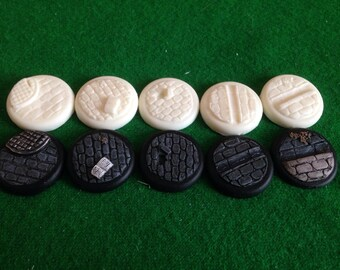 Warmachine warbases 30ml resin cobble stone
