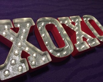 Marquee Letter Lights - XOXO