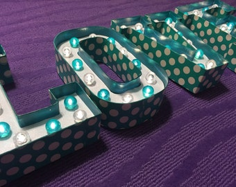 Marquee Letter Lights - LOVE