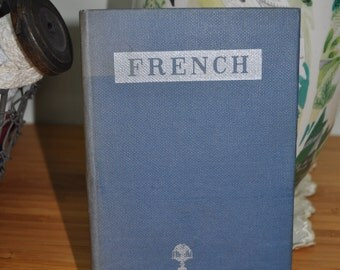 Vintage  French Phrase Book. Collins Phrase Books  Series. 1950s French Language