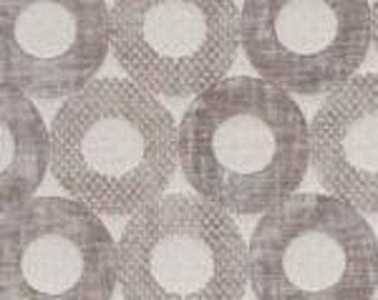 Cosmo Silver Grey O's 100% Polyester Reversible