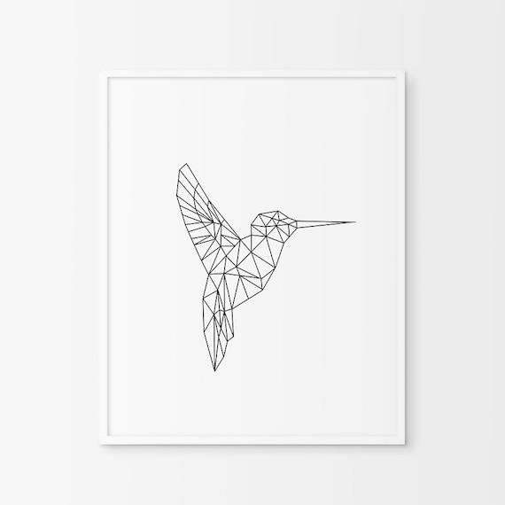 hummingbird print hummingbird wall art by chicscandinavian