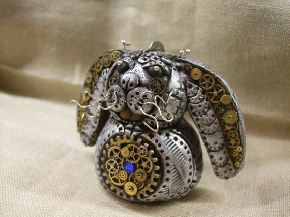 Steampunk Bunny Rabbit