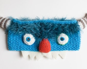 Monster headband, Monster costume, Furry head accessory,  Kids head accessory,  Baby present,  Baby gift, Cool kids present, Animal costume