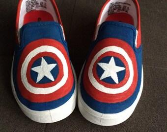 CAPTAIN AMERICA Shoes - custom