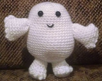 Adipose Fat Baby, Doctor Who, crochet, Dr. Who
