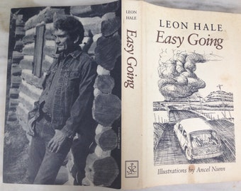 vintage signed Leon Hale, Easy Going book, SIGNED First Edition, 1983