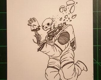 Cosmic Ventures Original Drawing