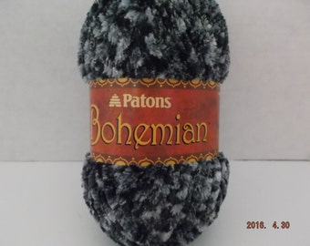 Patons Bohemian Yarn ~ #6 Super Bulky~ Colour: Hypnotic Haze ~ 80 grams