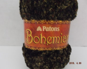 Patons Bohemian Yarn ~ #6 Super Bulky~ Colour: Artistic Taupes ~ 80 grams