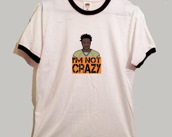 crazy eyes ringer tshirt 3 colours orange is the new black oitnb netflix