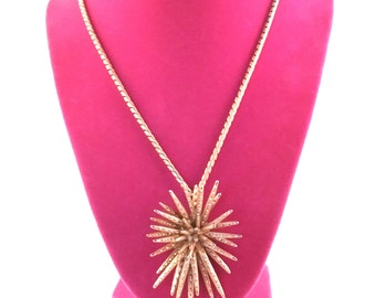 Large  MONET Starburst Necklace