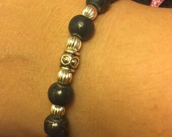 River clay bracelet
