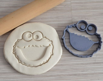 Cookie monster cookie cutter (inspired of)