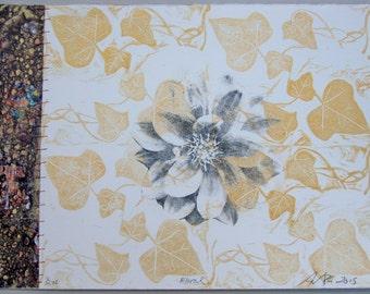 Floral, original print