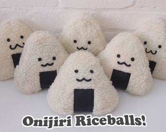 Onigiri (Rice ball) Plushie