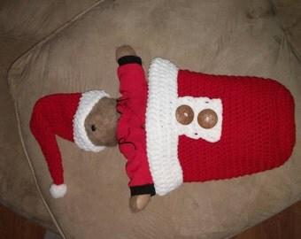 Santa sack and hat