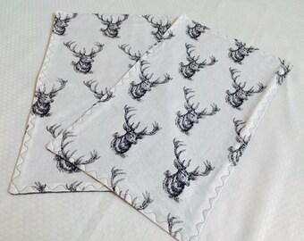 Woodland Burp Cloth Set