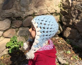 Crochet Earflap Childs Hat