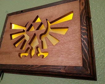 Zelda wingcrest triforce wall art
