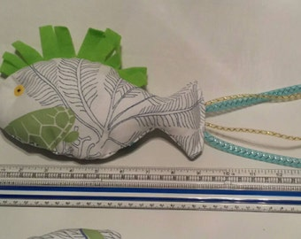 "14"" Cat Nip Fish Toy"