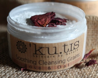 Cleansing Grains - Natural Face Wash - Soap Free
