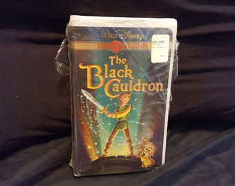 Disney The Black Cauldron VHS Gold Collection