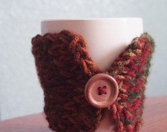 Autumn's Coffee Cozy