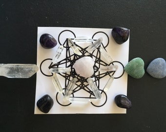 Crystal Grid & Sacred Geometry Set-up