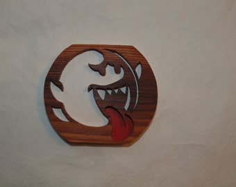 Wooden Boo from Mario Magnet