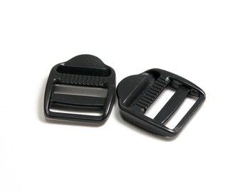 "1"" Ladderloc Black – Pack of 2"