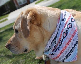 Native American Tribal Dog Bandana