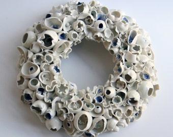 Seashells Wreath - 9 inch