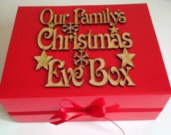 Our familys christmas eve box