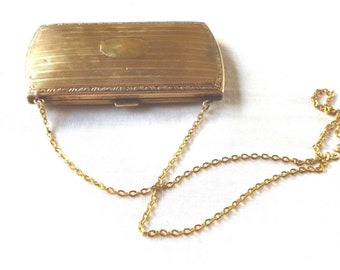 Antique Edwardian Gold Filled Purse circa 1910s